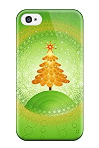 Amberlyn Bradshaw Farley's Shop Best Tpu Shockproof/dirt-proof Beautiful Christmas Tree Design Cover Case For Iphone(4/4s) 7318171K29956809