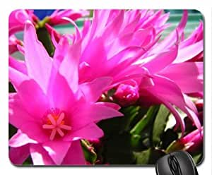 Cactus Flower Mouse Pad, Mousepad (Flowers Mouse Pad)