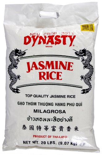 Dynasty Jasmine Rice, 20-Pound