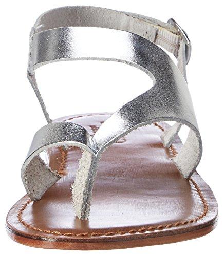 Inuovo 7724, Chanclas para Mujer plateado (silver)