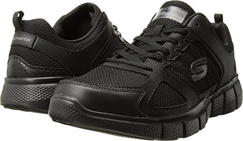 Skechers Men's Equalizer 2.0 On Track Black 7 EEEE US