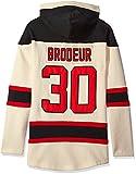 NHL New Jersey Devils Martin Brodeur Men's Player Lacer Name & Number Hoodie, Medium, Multicolor