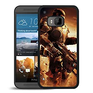 M9 case,Gears Of War Soldiers Sky Helicopter Gun Marcus Fenix HTC ONE M9 cover