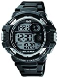 Q&Q Digital Regular Metallic Black Dial Men's Watch