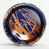 YoYofficer Rave Aluminum Yo-Yo (Blue Orange)