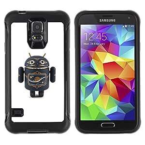 "Hypernova Defender Series TPU protection Cas Case Coque pour Samsung Galaxy S5 V [Juguete Aire Figurita 3D de juguete""]"