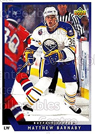 Amazon.com  (CI) Matthew Barnaby Hockey Card 1993-94 Upper Deck ... 83c8dfefa