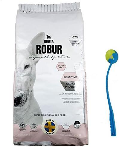 12,5 kg bozita robur Sensitive Single proteína Salmon Perros ...