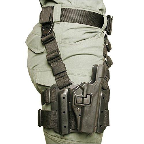 BLACKHAWK! Serpa Level 2 Tactical Black Holster, Size 06, Right Hand, (Sig220/226/228/229 Blk)