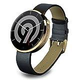 NINETEC Smart9 G2 Smart Watch für Android & Apple iOS mit Herzfrequenz-Messer Pedometer Schritt-Zähler Schlaf-Analyse Gold