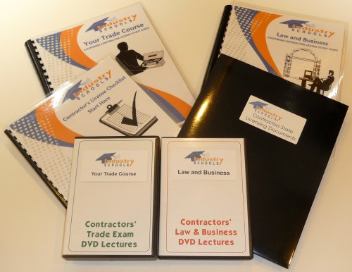 KIT C27 - LANDSCAPING for California w/LAW & BUSINESS & Online Practice Exams, Instructors on DVDs by Industry Schools
