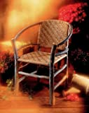 Rustic Two Hoop Chair by Old Hickory
