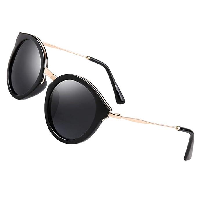Amazon.com: Gafas de sol polarizadas para mujer de Parzin ...