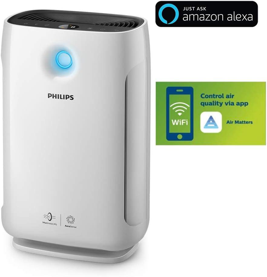 Philips AC2889/60 - Purificador de aire (79 m², 12 h, CC, 198 m³/h ...