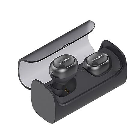 Audífonos inalámbricos verdaderos, LiteXim TW-08 Bluetooth 4.1 Auriculares estéreo inalámbricos para auriculares,