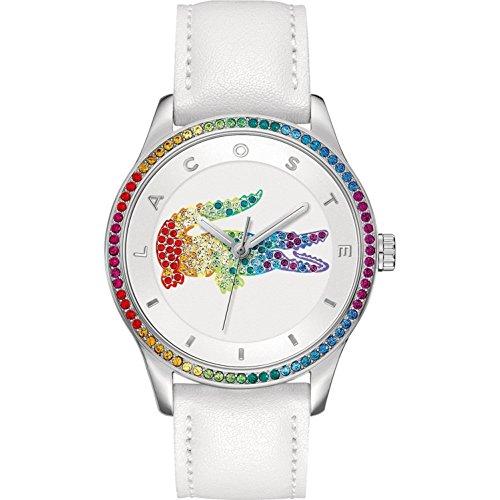 Lacoste-Damen-Armbanduhr-Analog-Quarz-Leder-2000822