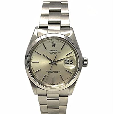 Rolex Date Swiss-Automatic Male Watch 1500 (Certified Pre-Owned) by Rolex