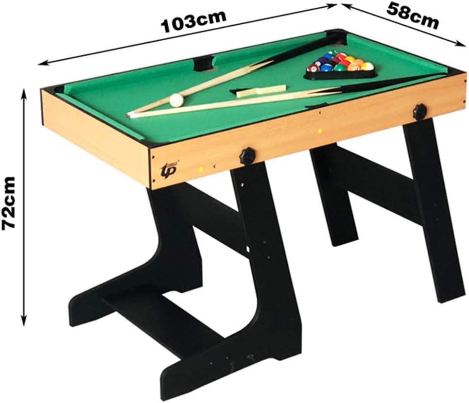 shengshiyujia Deluxe 4 en 1 Mesa de Juego Superior Multifunción Combo de Mesa Estable (Ping Pong), Glide Hockey, Soccer Foosball, Pool Set para niños y niños: Amazon.es: Deportes y aire libre