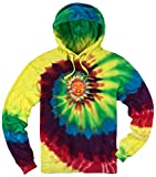 Mens Sleeping Sun Tie Dye Hoodie, 3XL Michaelangelo Review