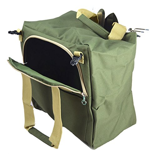 10 Piece Gardening Tool Set With Zippered Detachable Tote