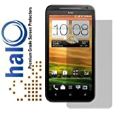 Halo Premium Japanese Screen Protector Invisible Film for HTC EVO 4G LTE Jet - 3 Pack - Clear