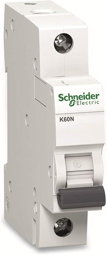 1P SCHNEIDER ELECTRIC Leitungsschutzschalter iC60N D Charakteristik 20A