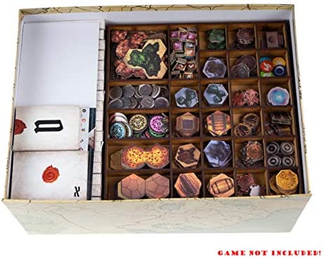 docsmagic.de Organizer Insert for Gloomhaven + Forgotten Circles Box - Encarte: Amazon.es: Juguetes y juegos