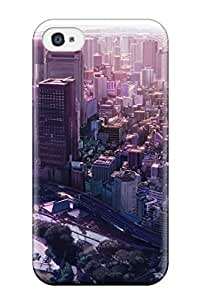 iphone covers 4/4s Scratch-proof Protection Case Cover For Iphone/ Hot City Man Made City Phone Case