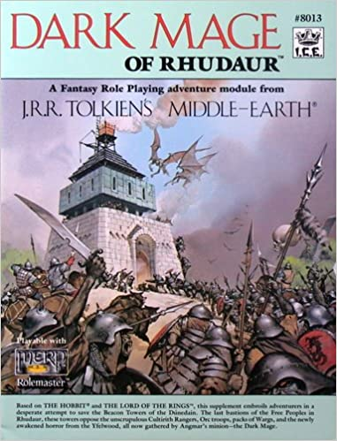 Book Dark Mage of Rhudaur (Middle Earth Role Playing/MERP)