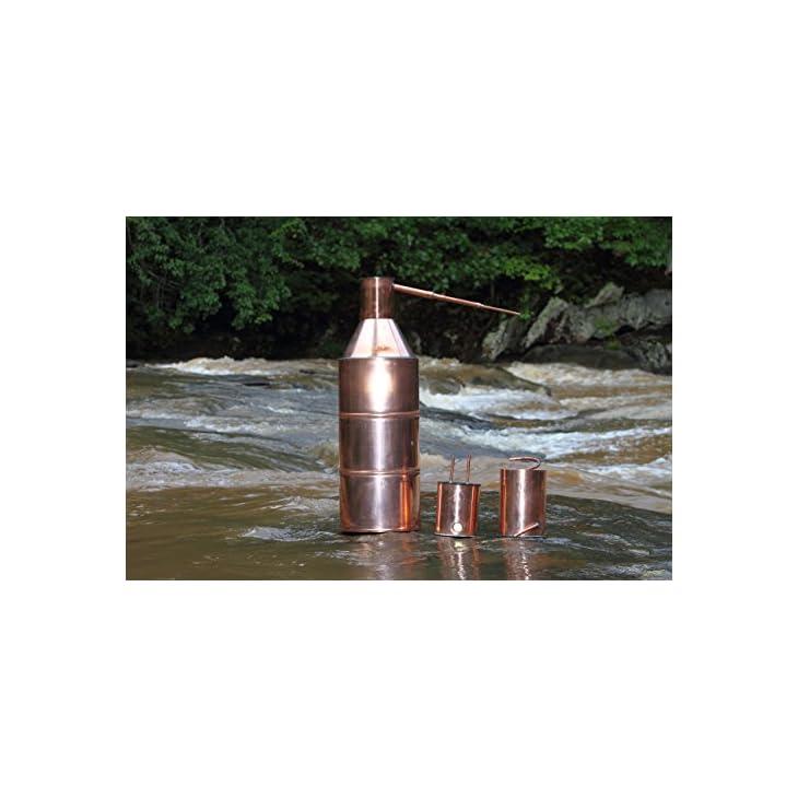 10 Gallon Copper Moonshine Still – North Georgia Still Company