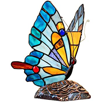 Tiffany-style Butterfly Table Lamp - Night Lights - Amazon.com