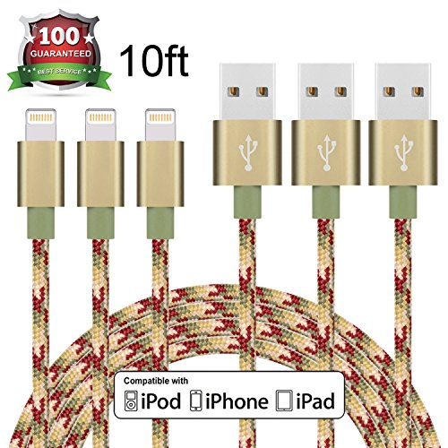 Eashion Charger Braided Lightning Compatible