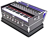 Sandhu Musicals 7 Stopper Double Bellow 39 Keys Harmonium Bass, Male Reed With Cover