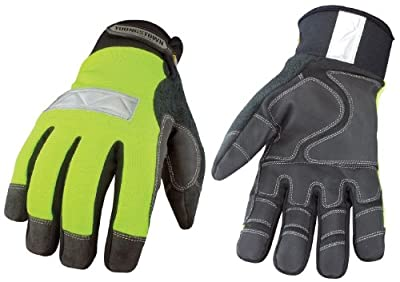 Youngstown Glove Safety Lime Waterproof Winter Glove