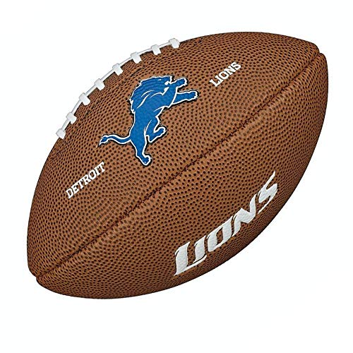 Wilson NFL Detroit Lions 9'' Mini Soft Touch Football