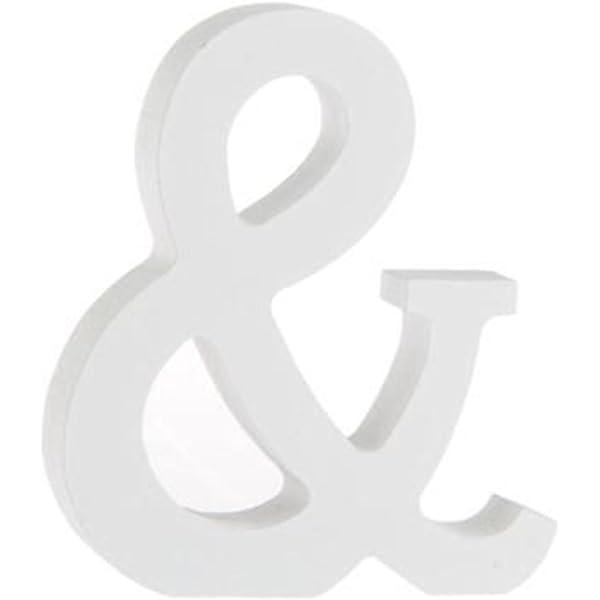 letra E joyliveCY fiestas de cumplea/ños 1 letra de madera artesanal para decoraci/ón del hogar bodas