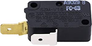 Primeswift SZM-V16-FC-63 Microwave Door Interlock Switch W10269460 Replacement for Whirlpool Maytag AP4429920