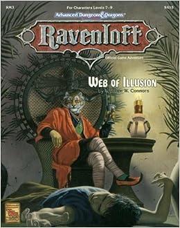 Web of Illusion (AD&D/Ravenloft Module RM3) (Advanced