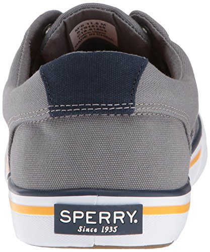 Men's Sneaker Sperry Sider Top Nautical Striper Ii Grey CVO 010Eqnr