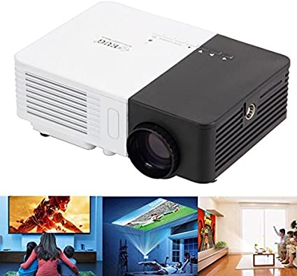 LED Mini Video Projector Portable Multimedia Home Theater 1080P HD ...