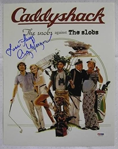 Cindy Morgan Signed Caddyshack 11x14 Inscribed Lacy Underall Photo Autograph PSA/DNA w/ COA w/ OC Dugout Hologram C -