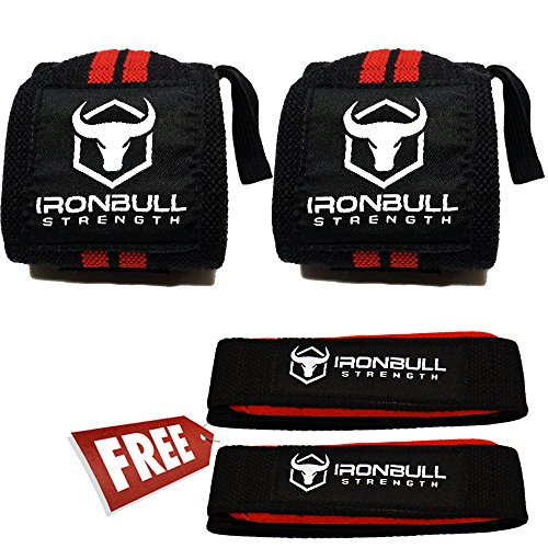 Iron Bull Strength Lifting Straps