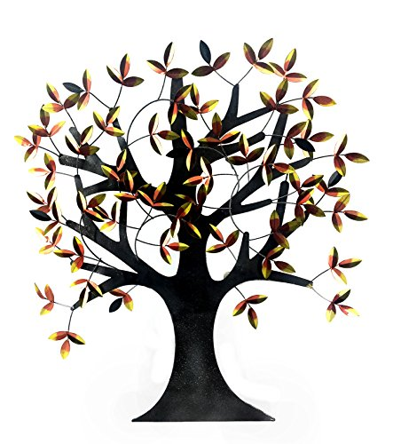 Big Willow Tree of Life decorative Metal Wall Art, Elite Abstract wall Art