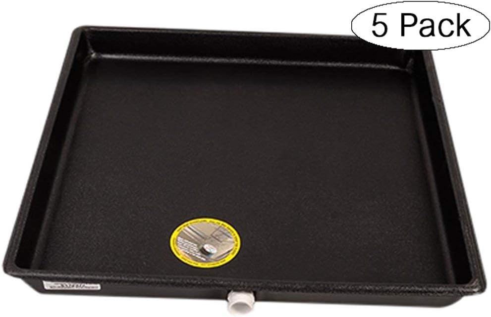 Large DiversiTech 6-2424L Drain Pan Plastic 24 x 24