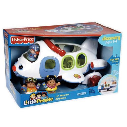 - Amazing Fisher-Price Little People Lil' movers Airplane