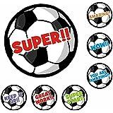175 Soccer 25mm Praise Stickers