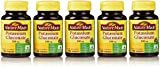 Nature Made Potassium Gluconate 550mg, 100 Tablets (Pack of 5)