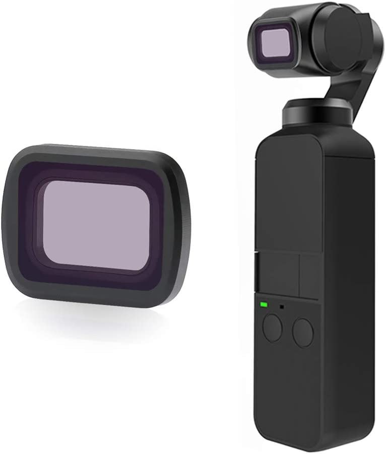 5PCS Aimik Newest Professional Waterproof Aluminium MRC Quick Swapping Magnetic Camera Lens Filters for DJI OSMO Pocket