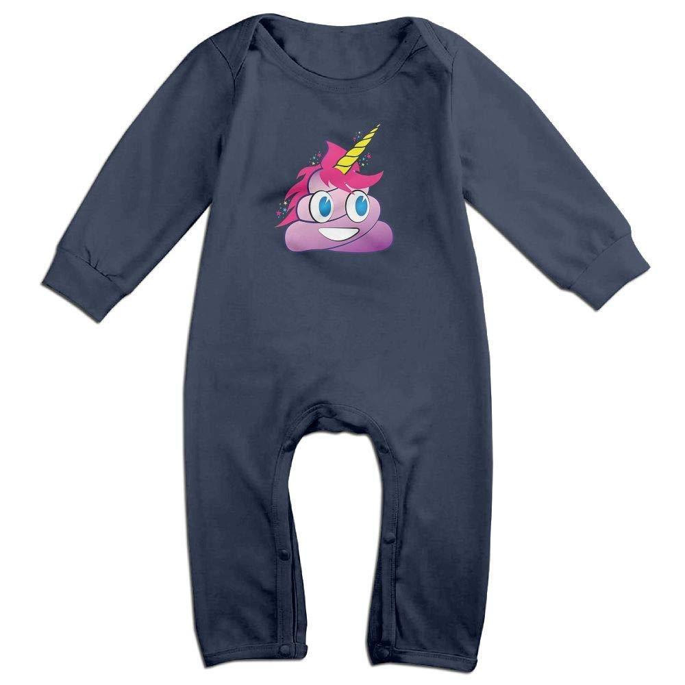 PMsunglasses Cute Unicorn Poop Fashion Baby Climbing Clothing Long Sleeve Garment