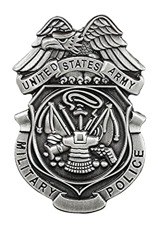 U.S. Army Military Police beautiful Mini Badge-Lapel Pin (Value Pack) (1 pack)